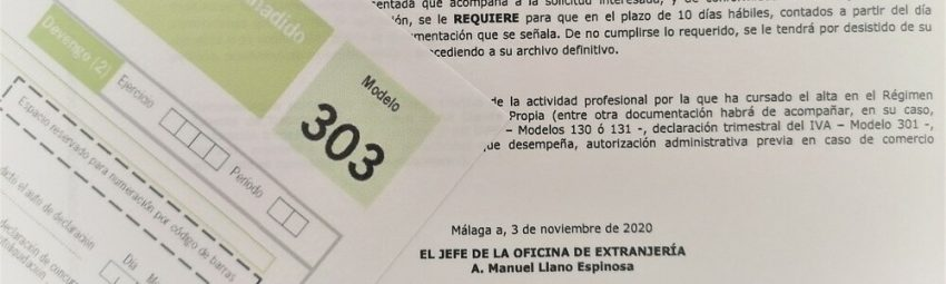 Stricter requirements for Autonomos registering for residency within the Withdrawal Agreement in Malaga