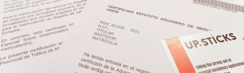 Importing your UK registered car into Spain post-Brexit
